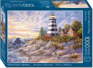 Crown Point Graphics Crown Point Puzzle: Out of Harm's Way (1000pc)