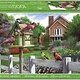 Crown Point Graphics Crown Point Puzzle: Feathers and Flowers (1000pc)