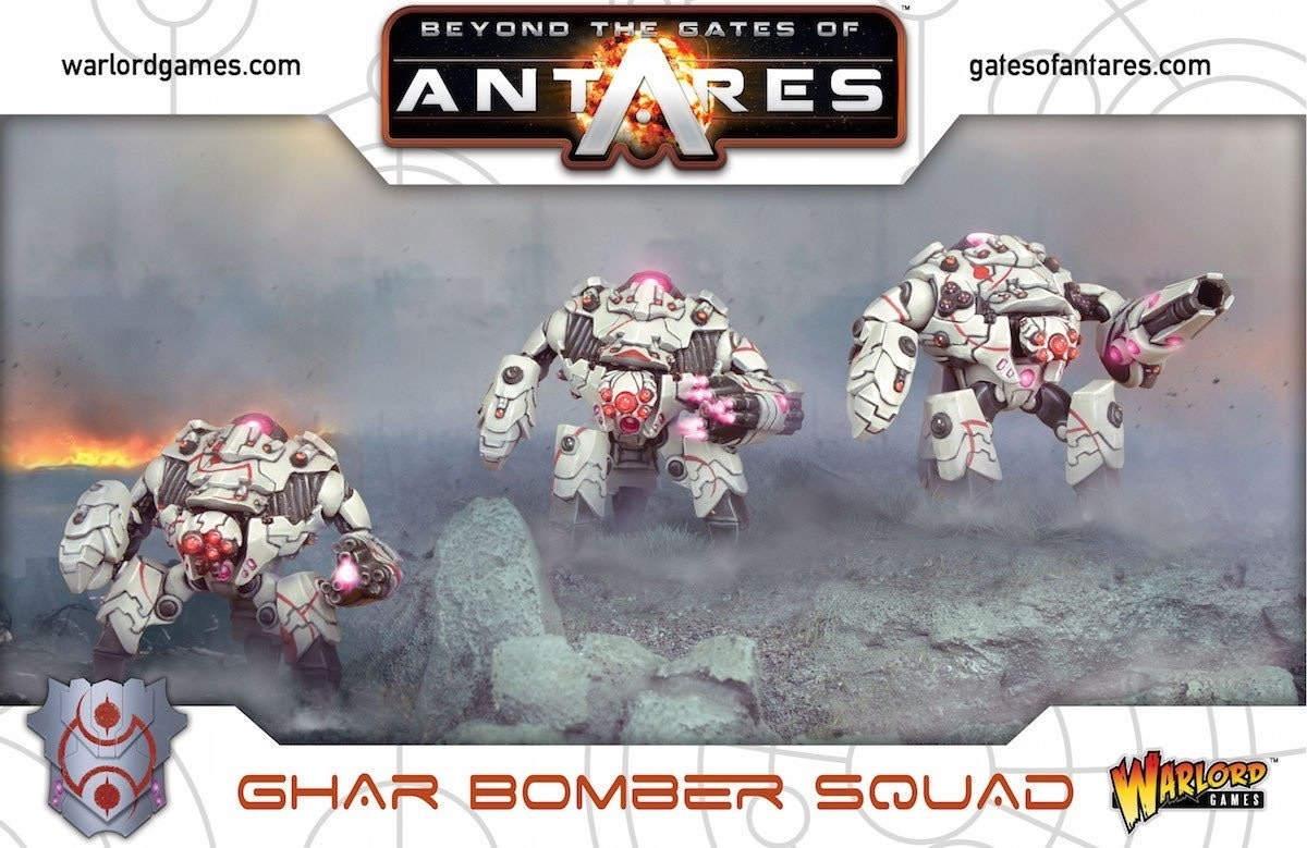 Warlord games Beyond the Gates of Antares: Ghar- Bomber Squad