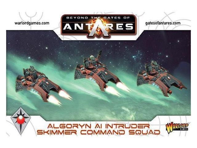 Warlord games Beyond the Gates of Antares: Algoryn- Intruder Skimmer Command Squad