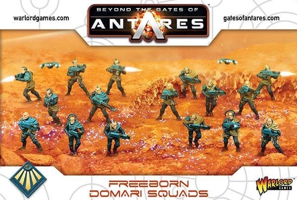 Warlord games Beyond the Gates of Antares: Freeborn- Domari Squad