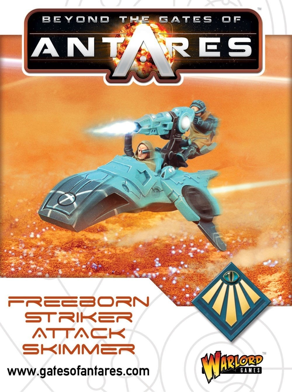 Warlord games Beyond the Gates of Antares: Freeborn- Sky Raider Squad