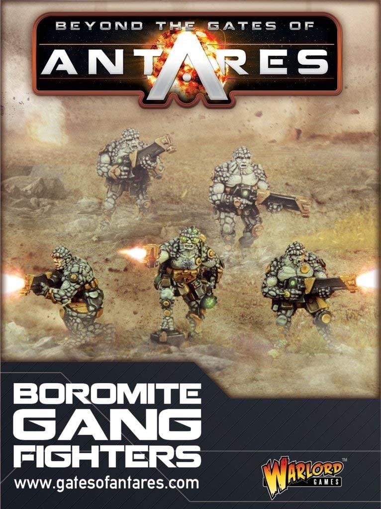 Warlord games Beyond the Gates of Antares: Boromite- Gang Fighters