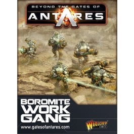 Warlord games Beyond the Gates of Antares: Boromite- Work Gang