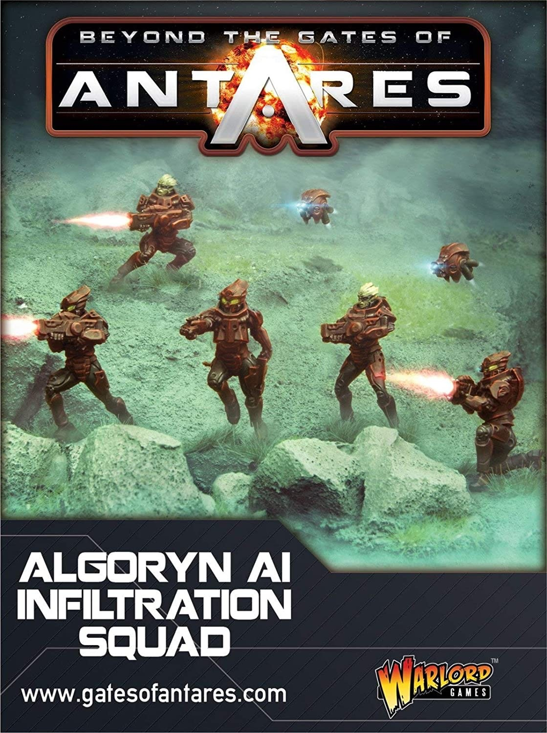 Warlord games Beyond the Gates of Antares: Algoryn- AI Infiltration Squad