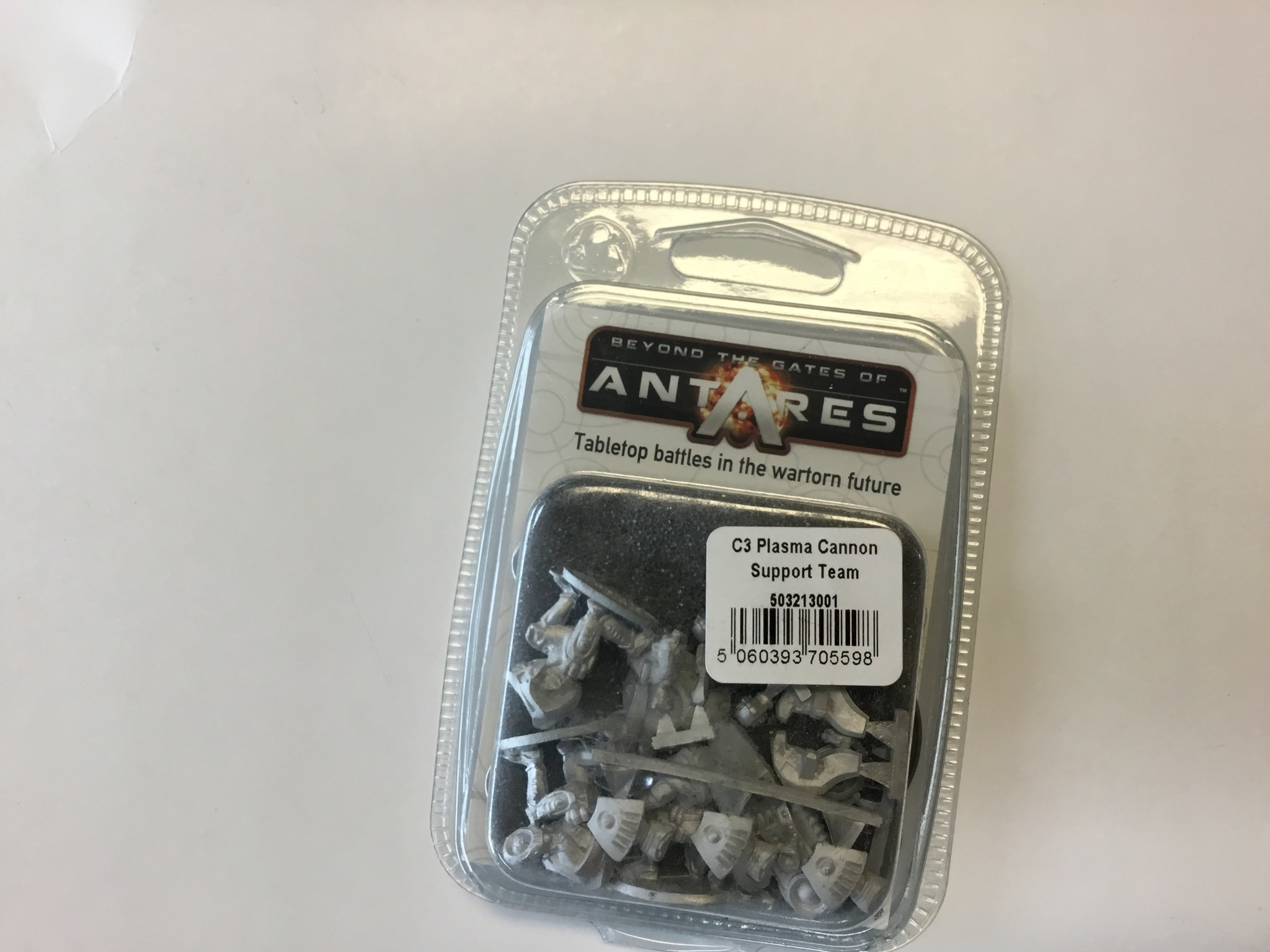 Warlord games Beyond the Gates of Antares: Concord- C3 Plasma cannon support