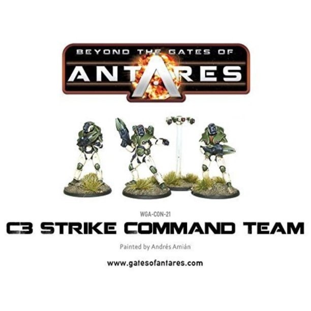 Warlord games Beyond the Gates of Antares: Concord- C3 Strike Team