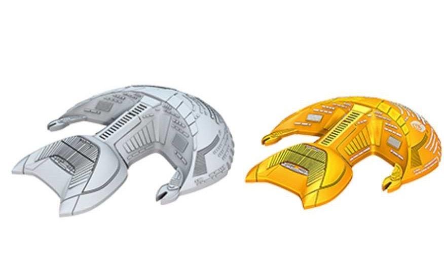 Wizkids Star Trek Attack Wing: D'Kora Class unpainted