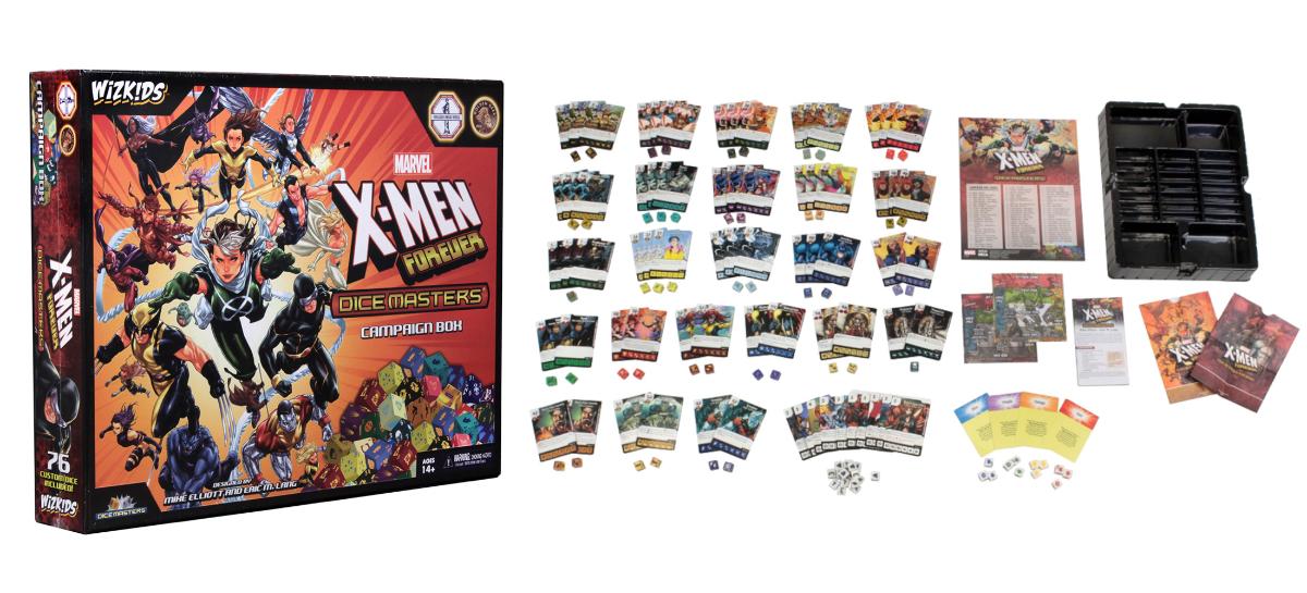 Wizkids Dice Master X-Men Forever Campaign box
