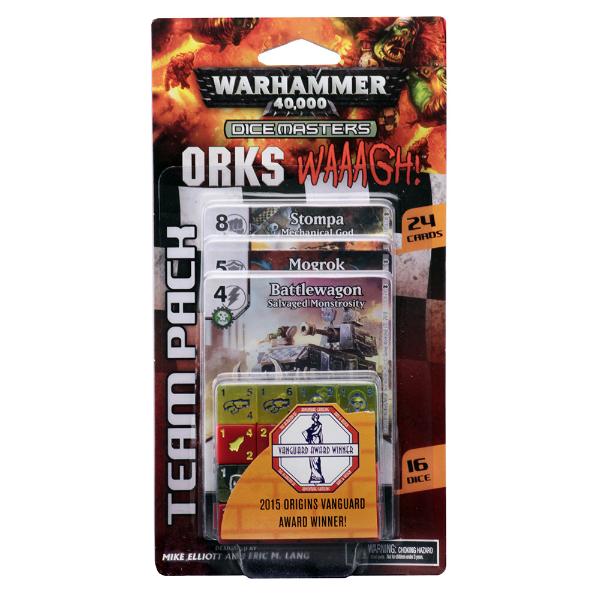 Wizkids Warhammer Dice masters Orks Waaagh!