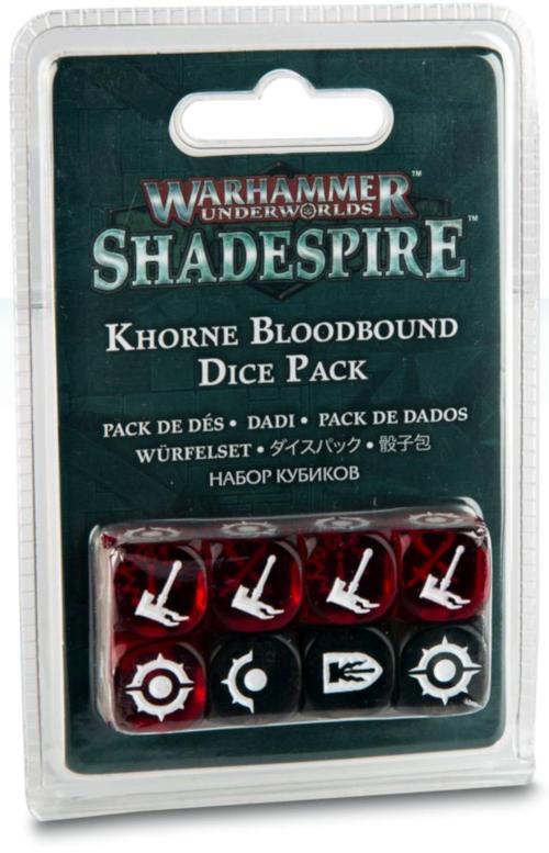Games Workshop Warhammer Underworlds: Khorne dice