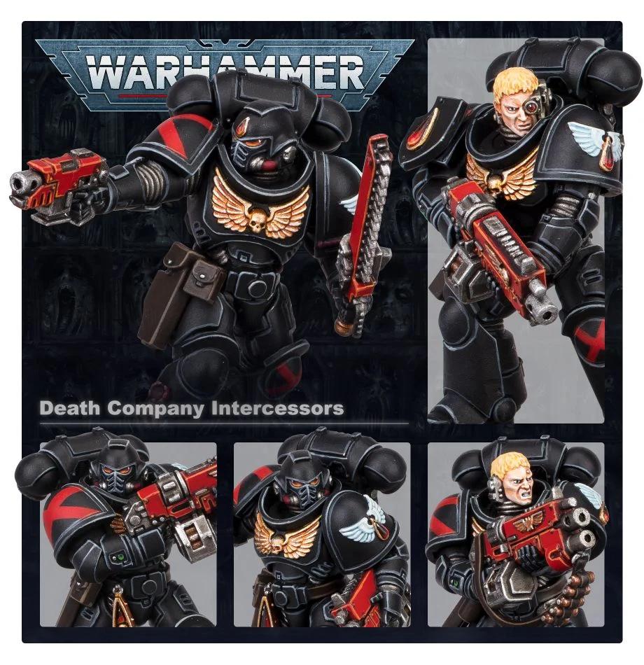 Games Workshop Warhammer 40K: Blood Angels- Death Company Intercessors