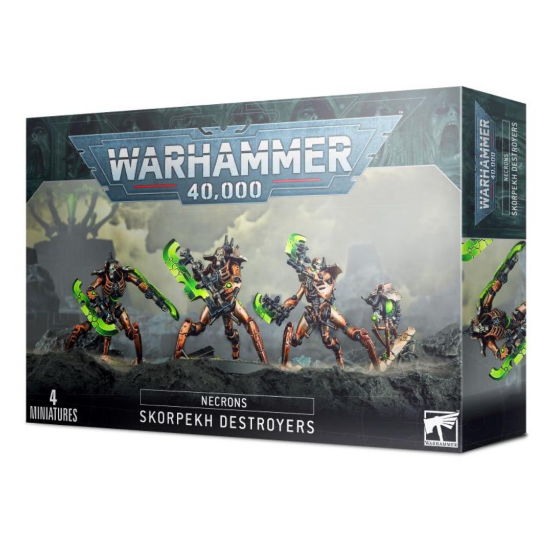 Games Workshop Warhammer 40K: Necrons- Skorpekh Destroyers