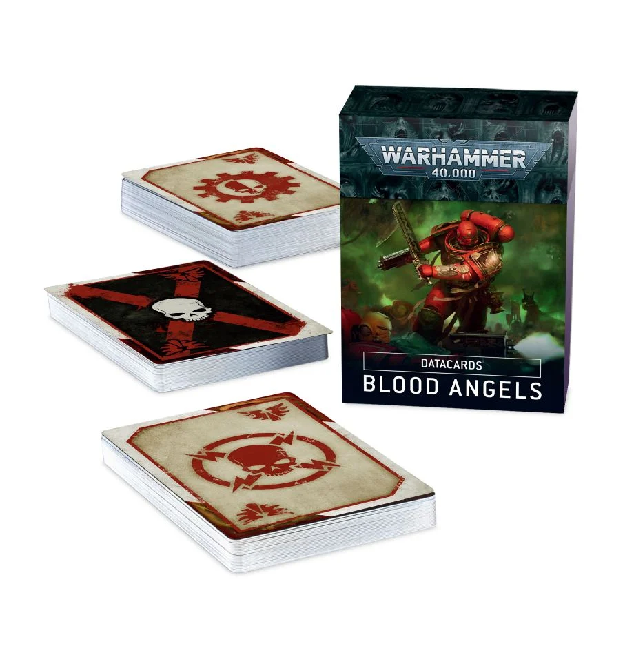 Games Workshop Warhammer 40K Datacards: Blood Angels