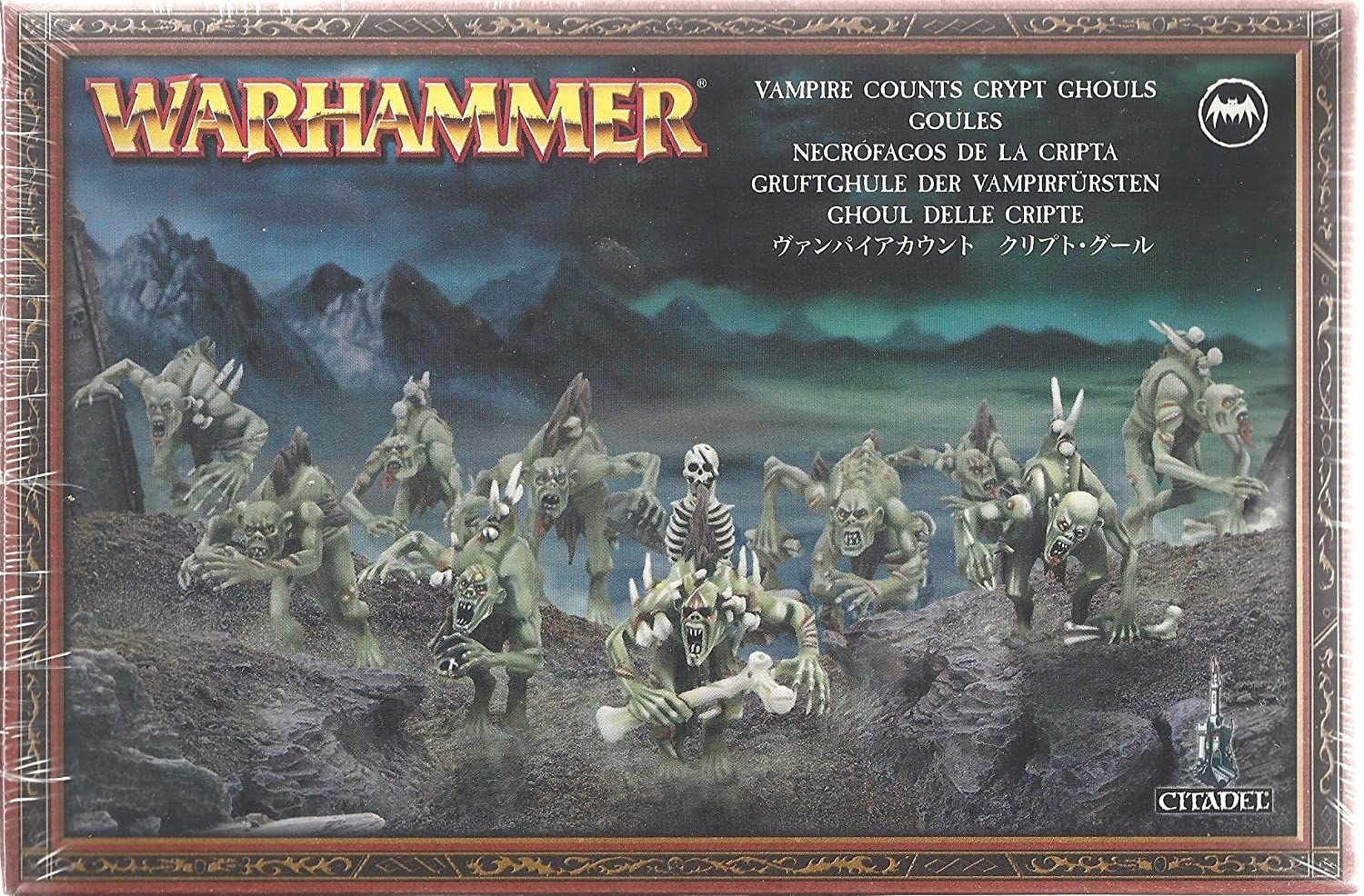 Games Workshop Warhammer: Vampire Counts-  Crypt Ghouls