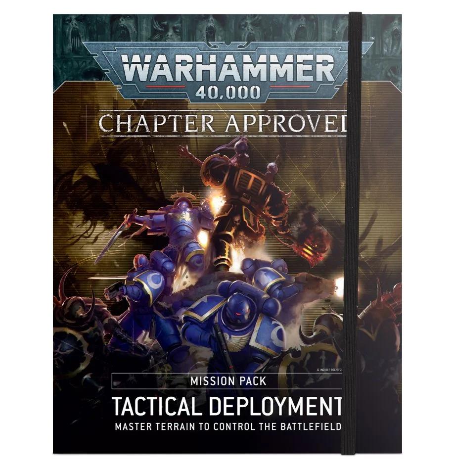 Games Workshop Warhammer 40k Chapter Approved: Tactical deployment