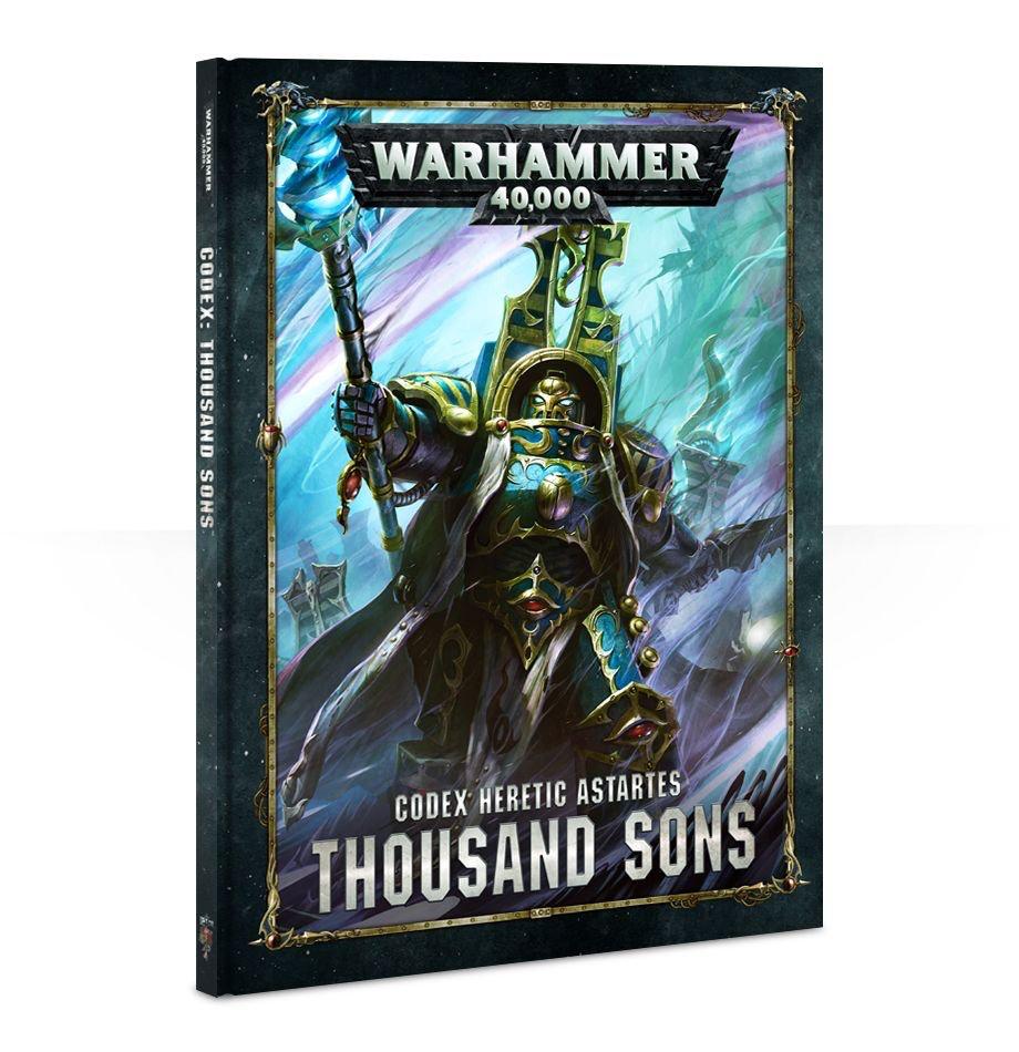 Games Workshop Warhammer 40K Codex: Thousand Sons