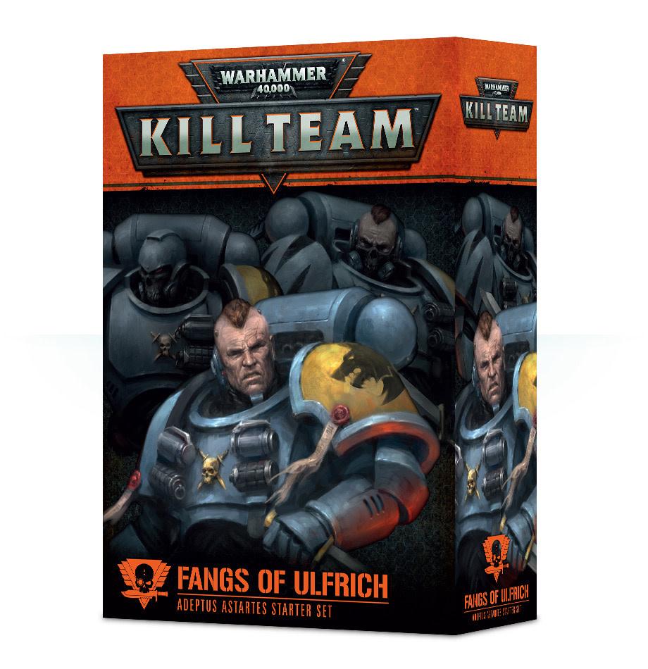 Games Workshop Warhammer Kill Team: Adeptus Astartes- Fangs of Ulfrich
