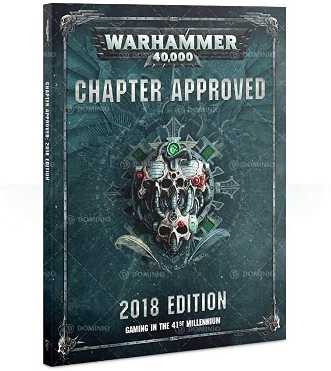 Games Workshop Warhammer 40k Book: Chapter Approved 2018