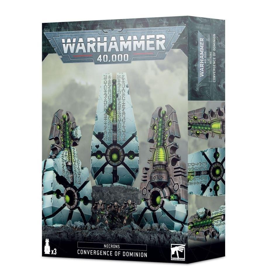 Games Workshop Warhammer 40K: Necrons- Convergence of Dominion