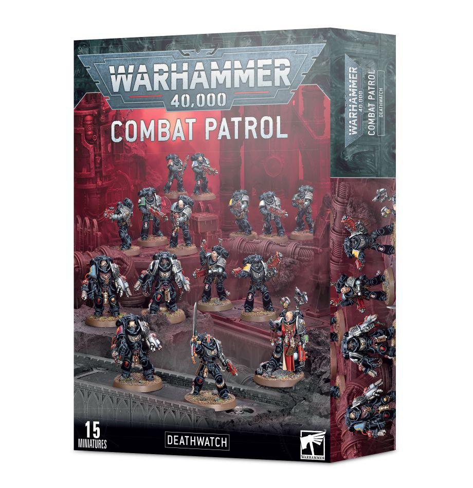 Games Workshop Warhammer 40K; Deathwatch- Combat Patrol