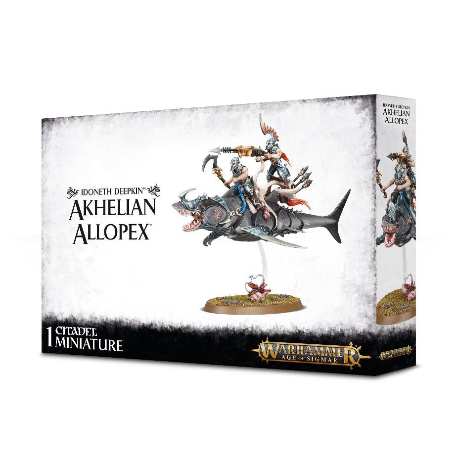 Games Workshop Warhammer Sigmar: Idoneth Deepkin- Akhelian Allopex