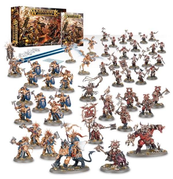 Games Workshop Warhammer Age of Sigmar Starter Set