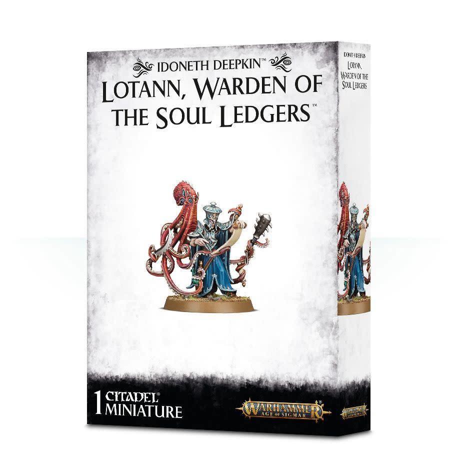 Games Workshop Warhammer Sigmar: Idoneth Deepkin- Lotann Warden of Soul Ledgers