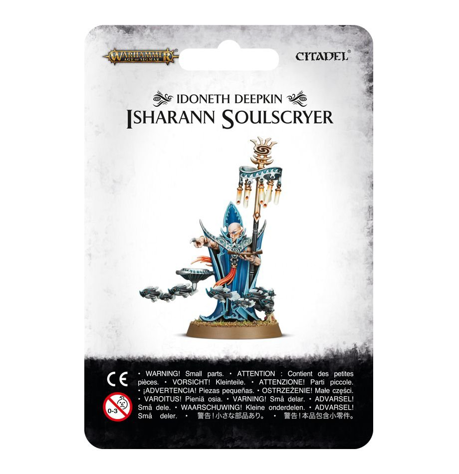 Games Workshop Warhammer Sigmar: Idoneth Deepkin- Isharann Soulscryer