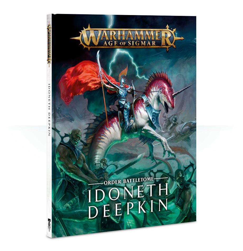 Games Workshop Warhammer Sigmar Battletome: Idoneth Deepkin