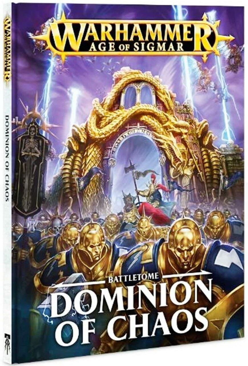 Games Workshop Warhammer Sigmar Battletome: Dominion of Chaos
