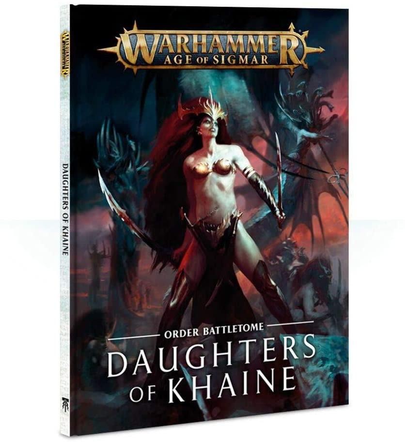 Games Workshop Warhammer Sigmar Battletome: Daughters of Khaine