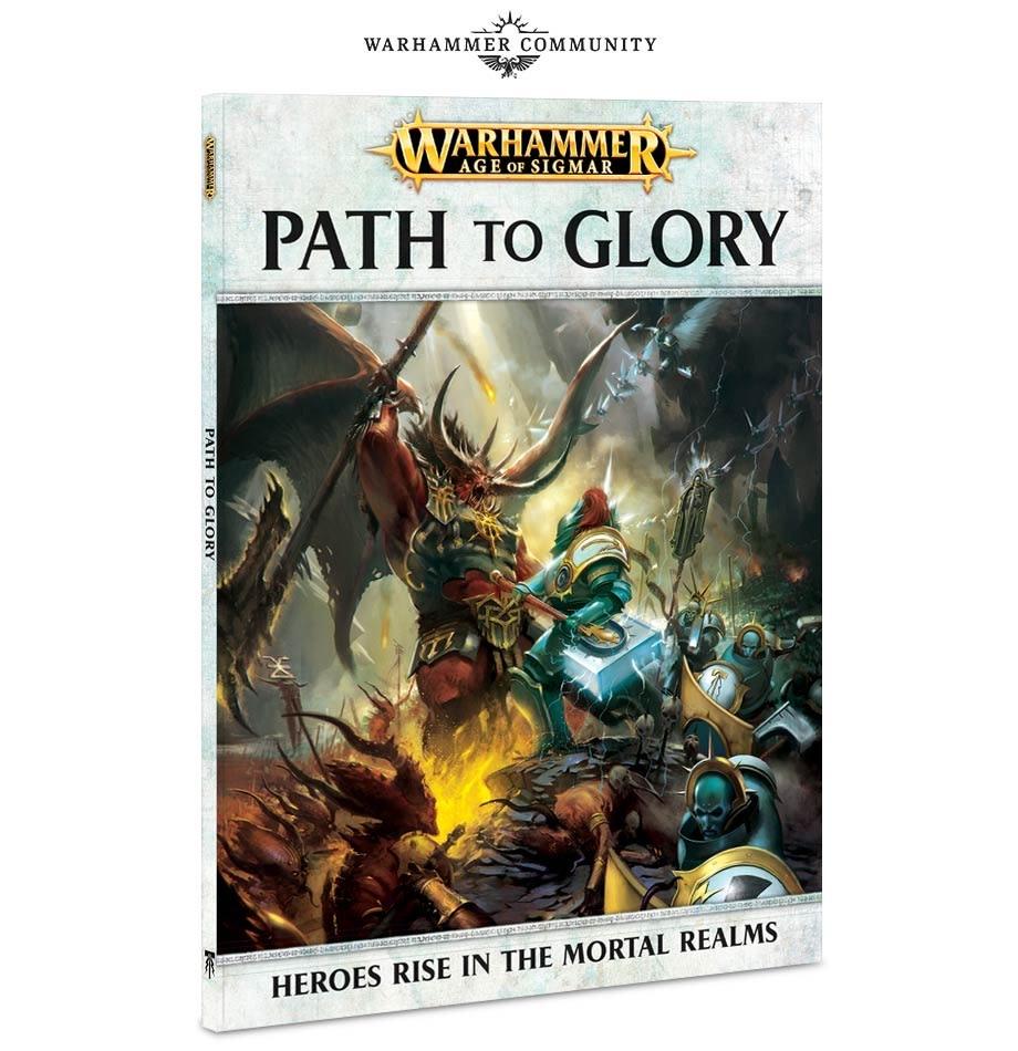 Games Workshop Warhammer Sigmar Book: Path to Glory