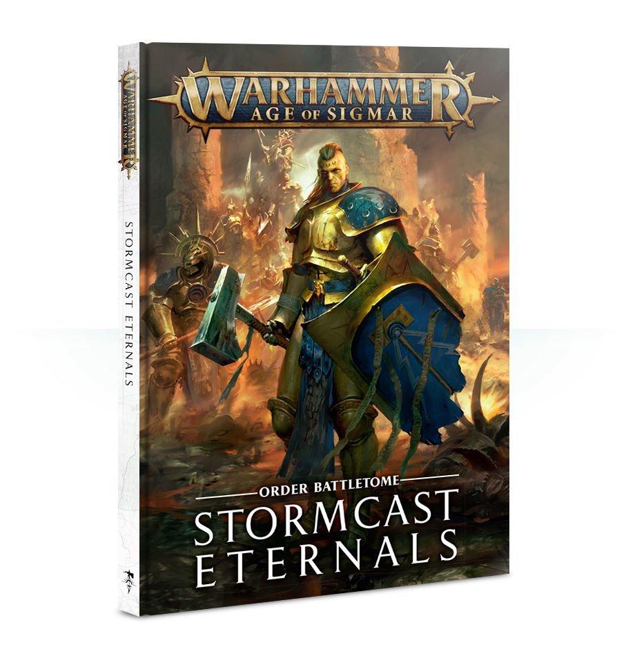 Games Workshop Warhammer Sigmar Battletome: Stormcast Eternals
