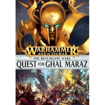 Games Workshop Wharhammer Sigmar Book: The Quest for Ghal Marz