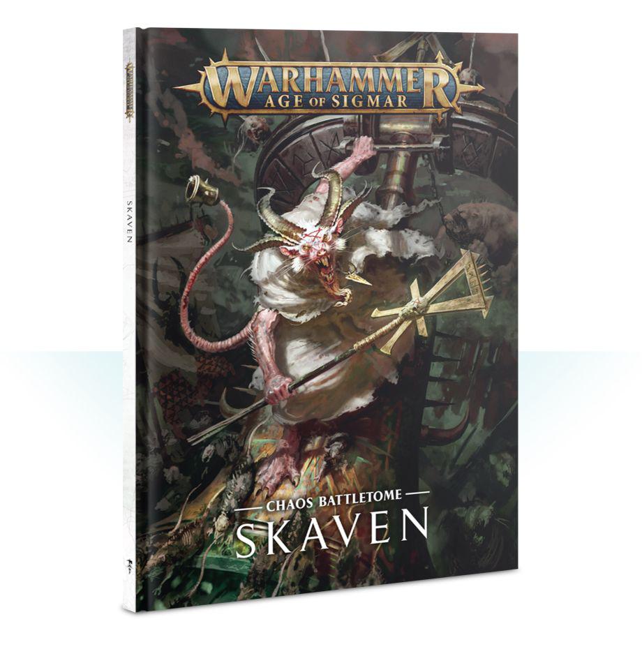 Games Workshop Warhammer Sigmar Battletome: Skaven
