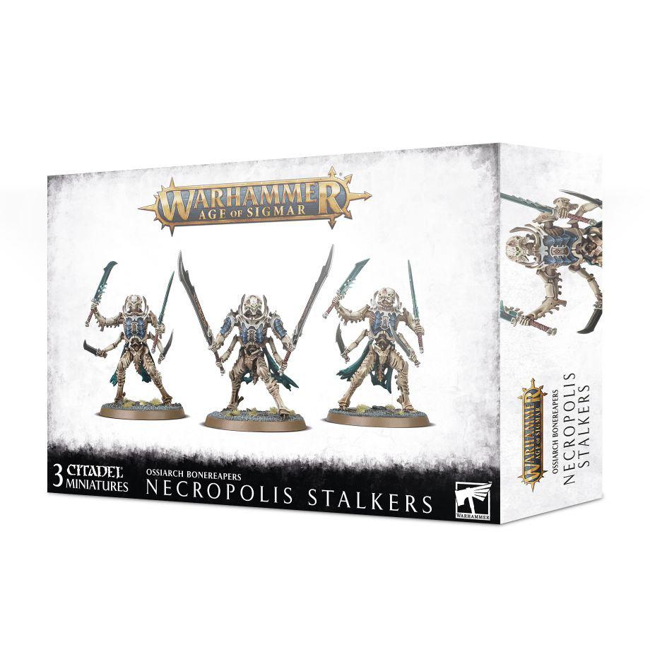 Games Workshop Warhammer Sigmar: Ossiarch Bonereapers- Necropolis Stalkers