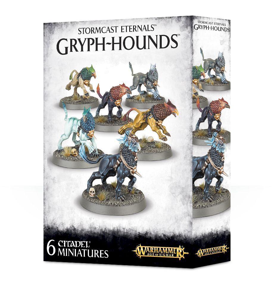Games Workshop Warhammer Sigmar: Stormcast Eternals- Gryph-Hounds
