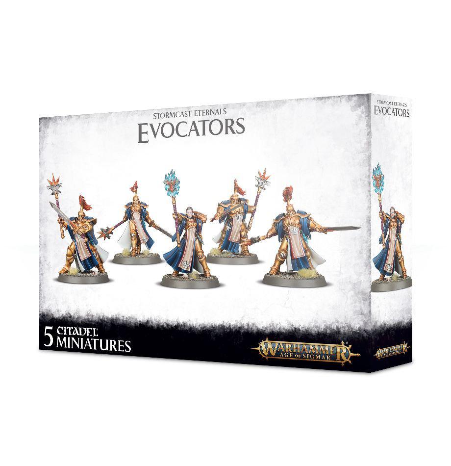 Games Workshop Warhammer Sigmar: Stormcast Eternals- Evocators