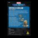 Atomic Mass Games Marvel Crisis Protocol: Crystal & LockJaw