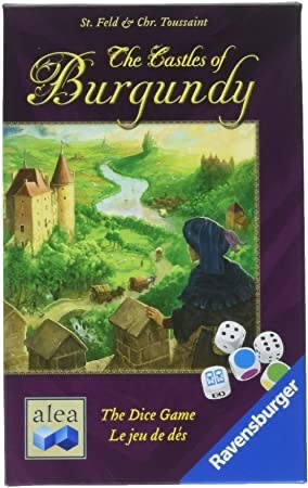 Ravensburger Castles of Burgundy Dice Game