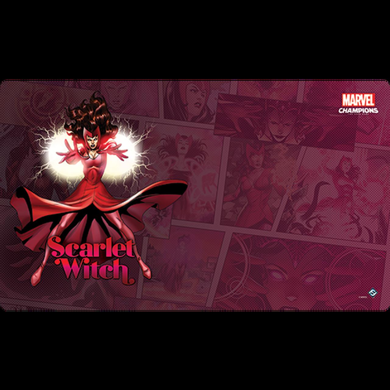 Fantasy Flight Marvel Champions Playmat: Scarlett Witch