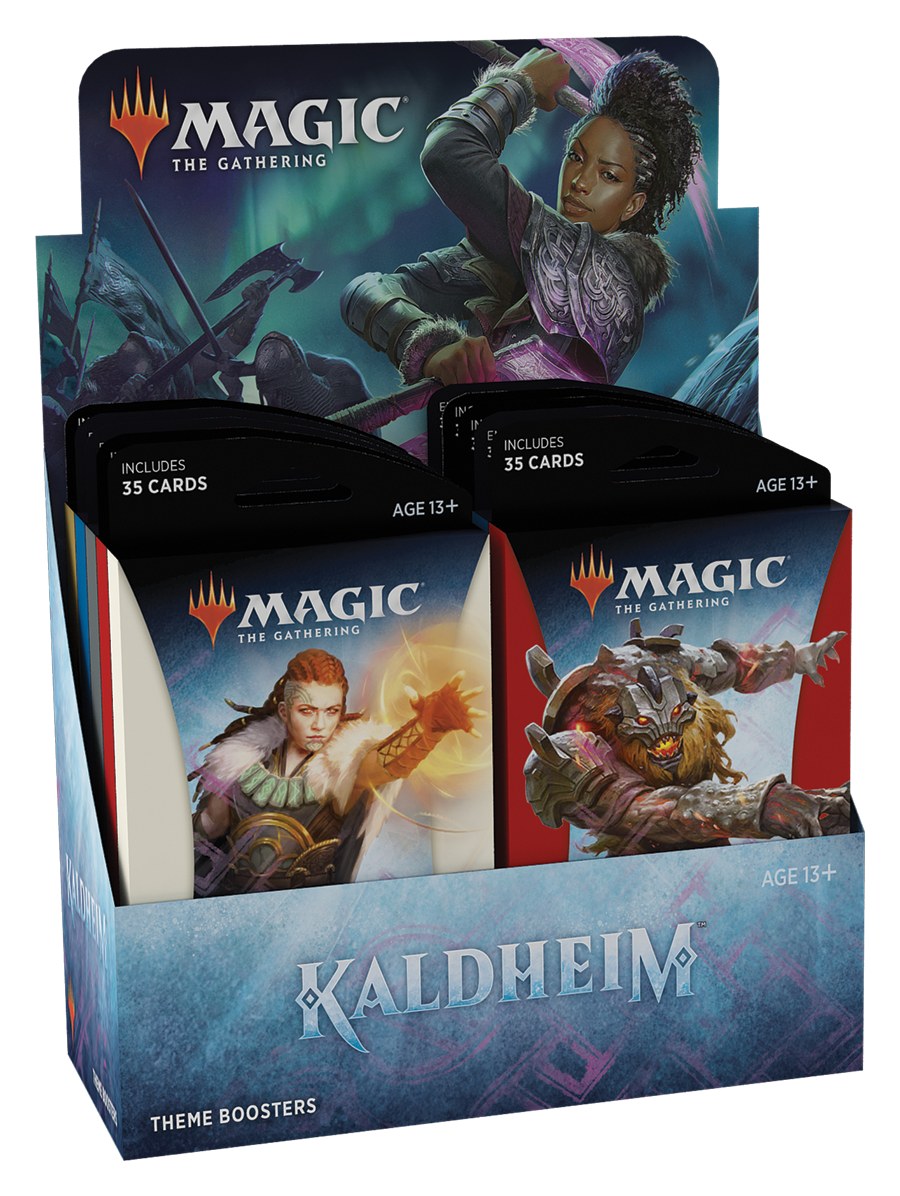 Magic the Gathering Magic the Gathering CCG: Kaldheim Theme Booster