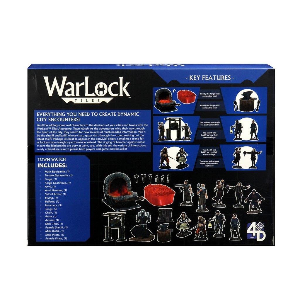 Warlock Warlock Tiles: Town Watch