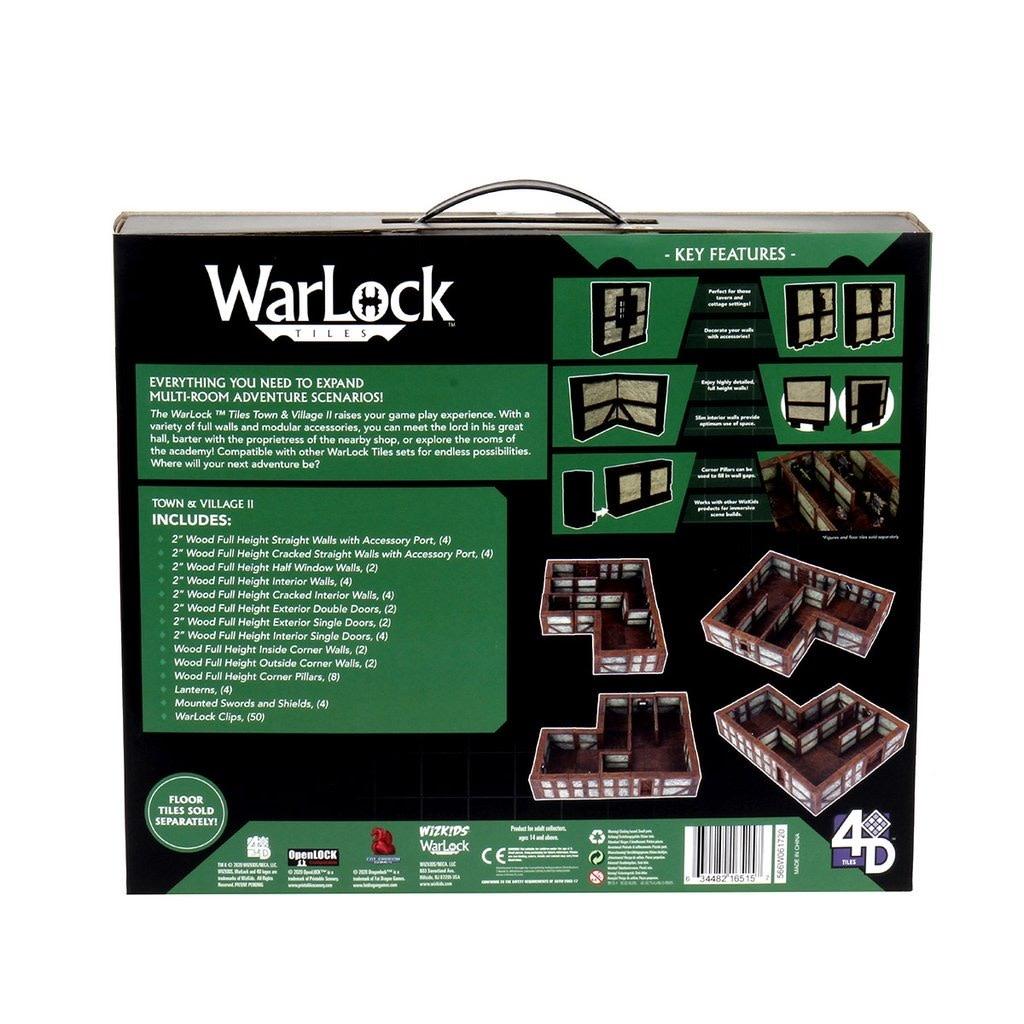 Warlock Warlock Tiles: Town & Village II -Full Height Plaster Walls sm box