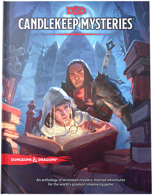 Dungeons & Dragons D&D RPG Book: Candlekeep Mysteries