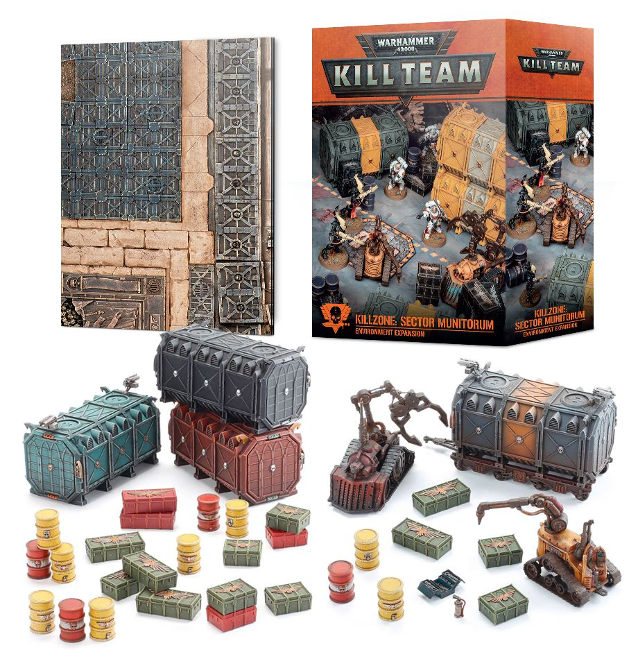 Games Workshop Warhammer Kill Team: Killzone- Sector Munitorum