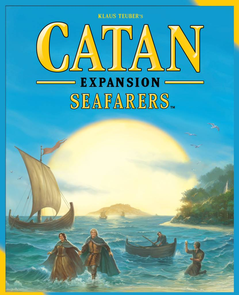 Catan Studio Catan: Seafarers Game Expansion