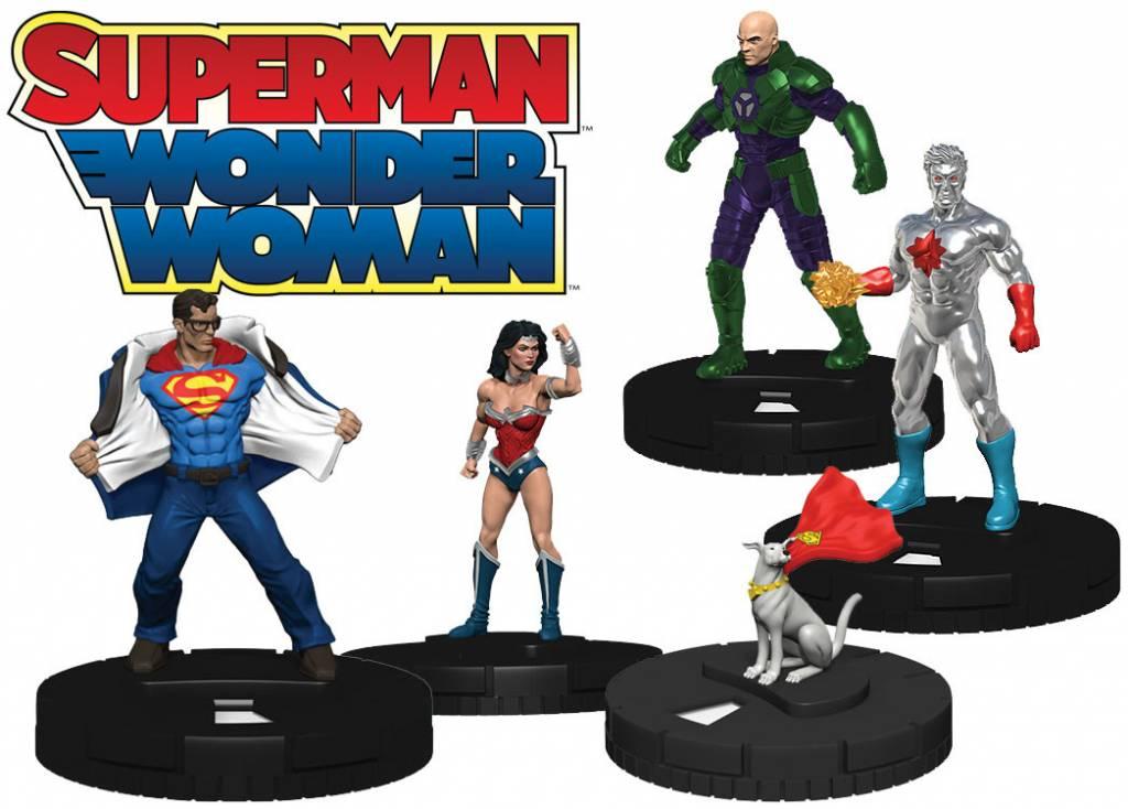 Wizkids DC Heroclix: Superman Wonder Woman Booster