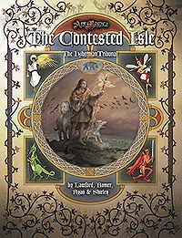 Atlas games Ars Magica RPG: The Contested Isle